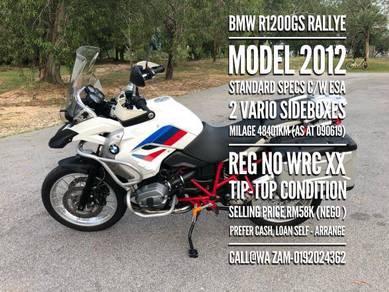 2012 Bmw r1200gs rallye