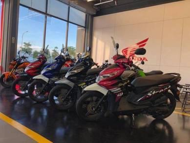 Honda beat 110 scooter / BEAT110 MERDEKA FROMOTION