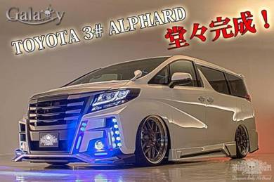 Alphard 2016 agh30 Galaxy bodykit body kit bumper