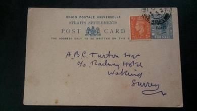Antik Old PS Straits Settlements 1948 No 49 RARE
