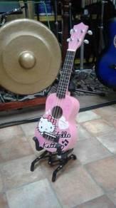 Ukulele Hello Kitty (Pink)