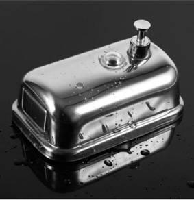 500ml Stainless Steel Pump Shower Soap Dispenser