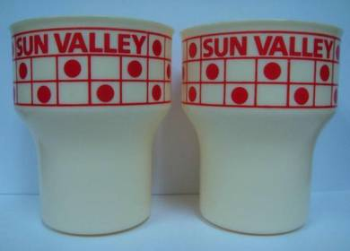 Drinking Cups - Sun Valley