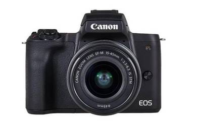 Brand new canon eos m50 with ef-m 15-45mm lens kit