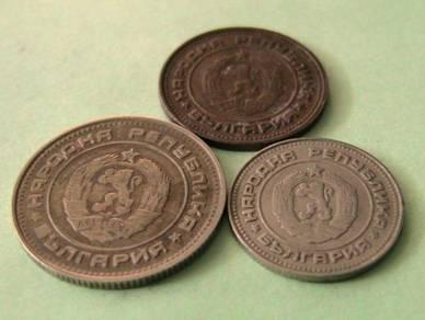 Syiling Bulgaria tahun 1974 (Kod : BU 001)