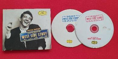 LEONARD BERNSTEIN West Side Story CD & DVD Set