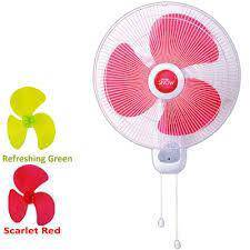 KHIND Wall Fan WF-1622 (GREEN/red colour)New
