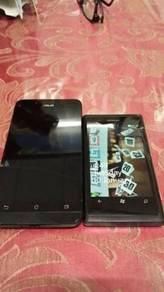 Zenfone go/lumia 800