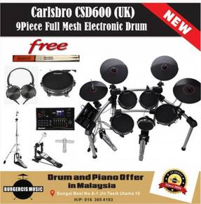 Carlsbro CSD600 (UK) Full Mesh Electronic Drum