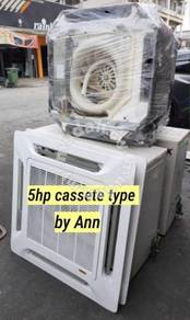 Aircond 5hp ceiling expose/ceiling cassette( 2i)