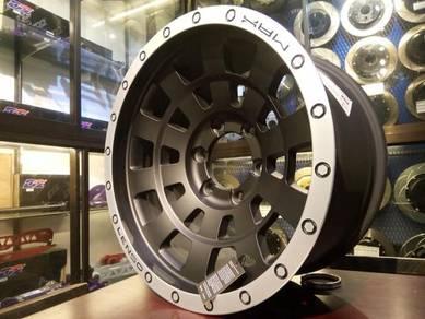 Lenso MAX 4 17inc rim for HILUX RANGER TRITON