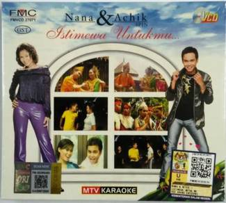 VCD KARAOKE Nana And Achik Spin Istimewa Untukmu