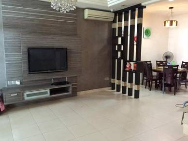 Double storey fully furnished near industrial zone