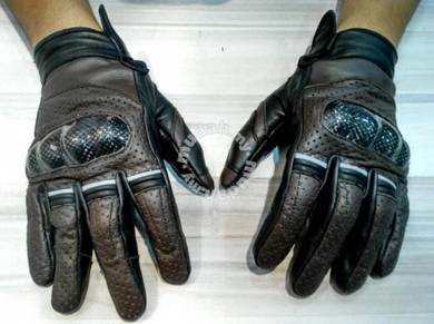 IZ2 Mission Impossible Leather Gloves (BROWN)