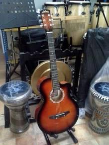Gitar Akustik (Sunburst : 38