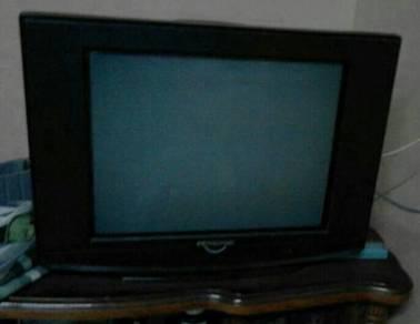 Tv21inci jenama pensonic dalam keadaan baik