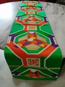EEQ Antik alas meja table runner kimono jepun A