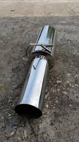 JDM Cannonball Long Tip Muffler 2.3