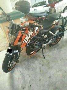 Duke 200cc (abs) 2014
