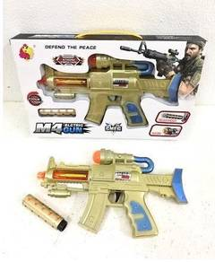 M4 Electric Gun with Vibration/Light/Sound Toy
