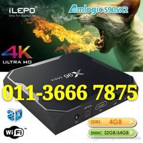 Crazy Uhd (4+64) Asian TV Box 4K