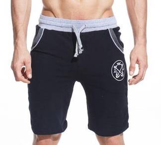 (415) Black Gym Stylish Man Sports Short Pants