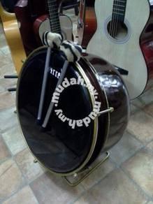 Bass Hadrah (Dengan 2 Pemukul)