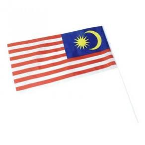 5 pcs Malaysia Hand Flag Bendera Malaysia 1 x 2 ft