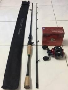 SEAHAWK BACKBONZ Casting Fishing Combo Set (NEW)