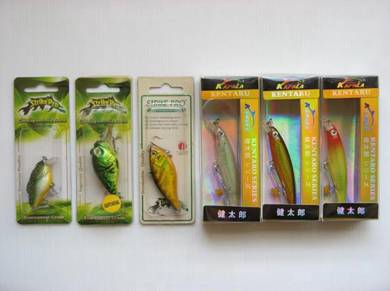 Pancing Branded Fishing Lure Set 15