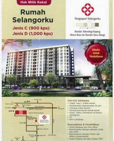 New Apartment Pangsapuri Rumah Selangorku, Kajang