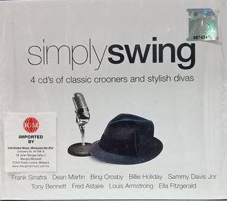 Simply Swing 4CD (Imported)