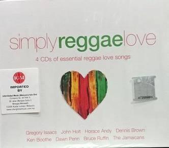 Simply Reggae Love 4CD (Imported)