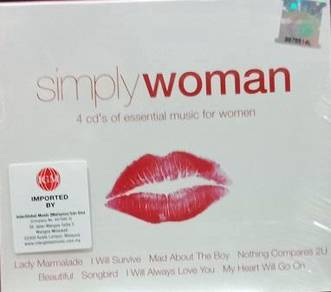 Simply Women 4CD (Imported)