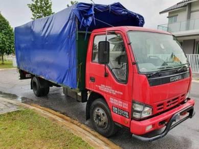 Lori isuzu 5 ton 6 tayar 2016