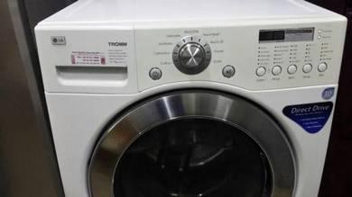 Automatic LG Mesin Basuh Combo Kering Dryer 14kg