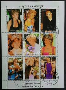 05) Lady Diana stamp