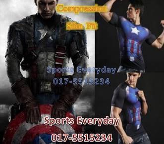 Captain America Slim Fit Compression Civil War