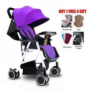 Lightweight Baby Stroller Folding Carrier 8 Wheels