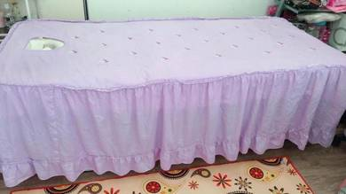 Facial bed cover