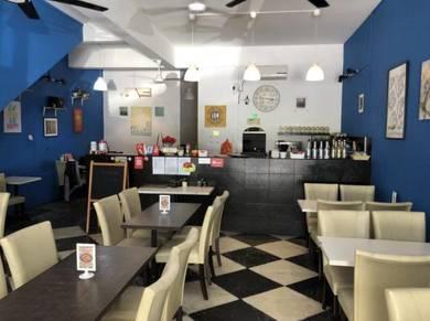 Business Restaurant/Cafe untuk di tukar Milik