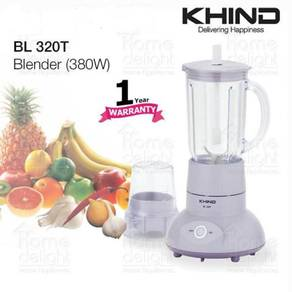 Khind BL320T Blender with Dry Mill (380W)NEW