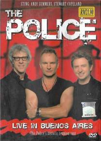 The Police Live In Buenos Aires Historic Tour DVD