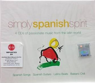 Simply Spanish Spirit 4CD (Imported)