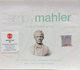 Simply Mahler 4CD (Imported)