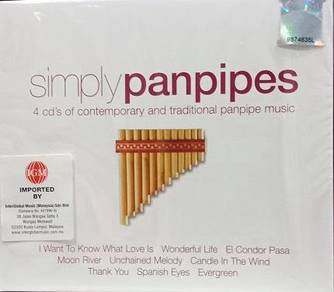 Simply Panpipes 4CD (Imported)