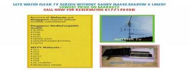 Pasang Mytv Malaysia Singapore Indo/Renovate rumah