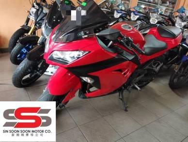 2013 Kawasaki Ex250 - L (second hand)