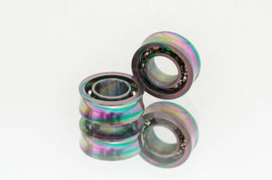Yoyo Bearing concave 10-ball rainbow color