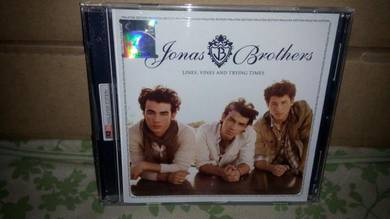 CD Jonas Brothers - Line, Vine and Trying Times